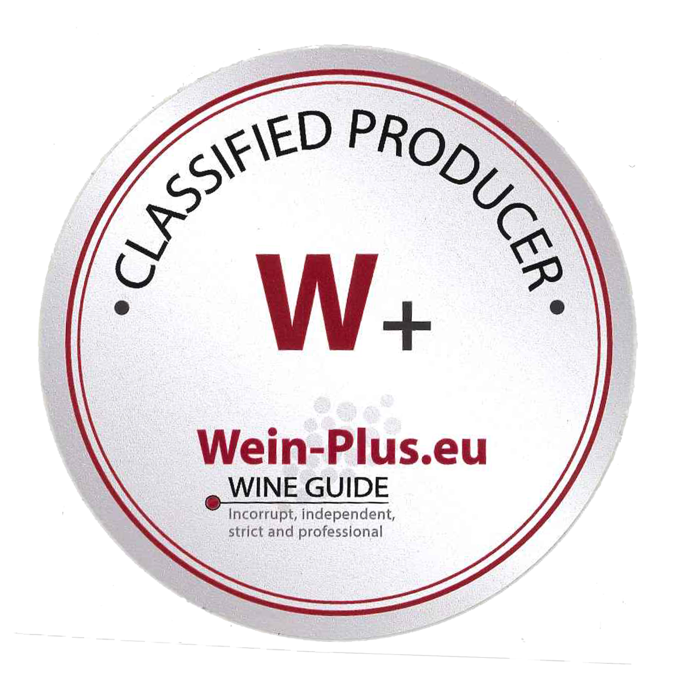 Wein-Plus.eu W+ CLASSIFIED PRODUCER